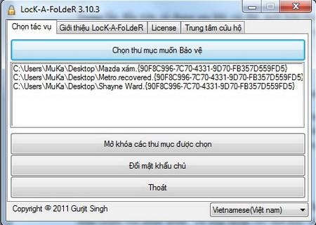 saukhithietlapmatkhaugiaodienchinhcuaphanmemhienra1 Mẹo hay bảo vệ dữ liệu và giải quyết hậu quả virus để lại