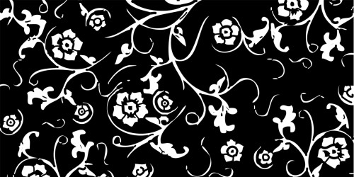 Vector Floral Pattern 22 by LaTaupinette