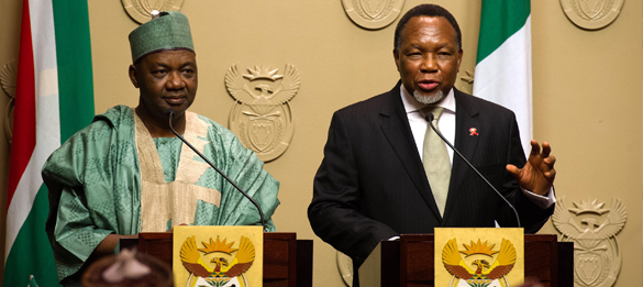 8th Session of the Bi-National Commission between South African and Nigeria