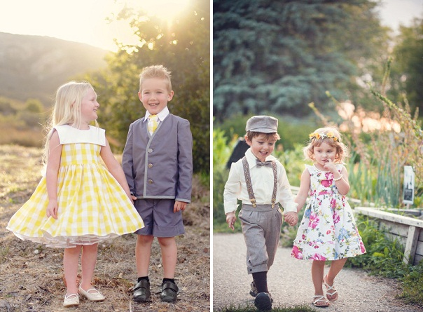 stylemepretty - Outfitting Your Flowergirl And Pageboy