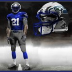 Seahawks Pro Combat Uniforms