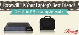 Rosewill is Your Laptop's Best Friend!
