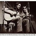 Picture of Joni Mitchell & James Taylor