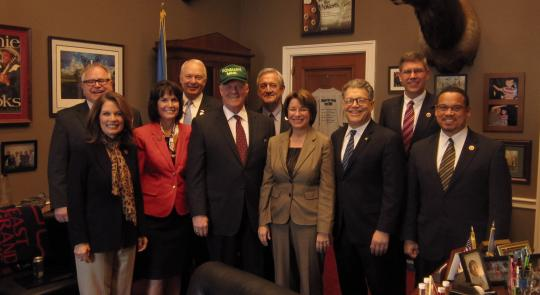 Peterson Hosts Minnesota Delegation feature image