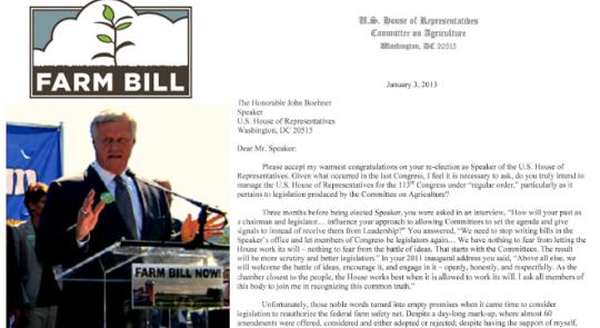 Peterson Urges Farm Bill Action feature image