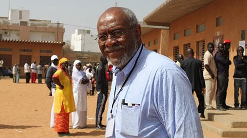 Assistant Secretary of State for African Affairs Johnnie Carson observes elections in Dakar, Senegal, February 26, 2012. [U.S. Embassy photo/ Public Domain]