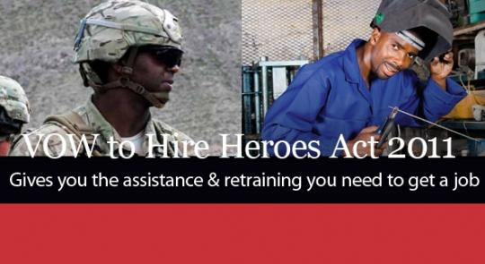 VOW to Hire Heroes Act Offers New Opportunities to Veterans feature image