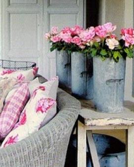 цветы в доме стиль прованс 017