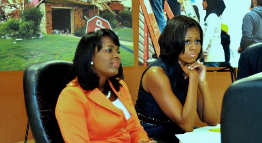 First Lady Michelle Obama Visits Birmingham feature image