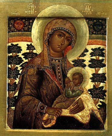 православная икона Млекопитательница