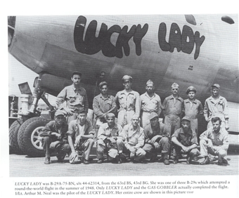 Crew of the Lucky Lady