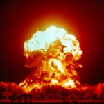 """Unlike many modern-day nuclear weapons tests, the April 1957 """"Badger"""" test at the Nevada Test Facility occurred above ground. Photo: Wikimedia"""