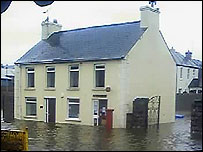 Many parts of NI have been affected by flooding