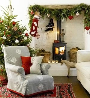 новогодние украшения рождественские носки 038