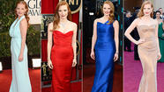 <b>Oscars 2013</b>: What the actress nominees wore this awards season