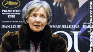 At 85, French actress Emmanuelle Riva is the oldest person ever nominated for best actress.