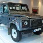 SKYFALL's Land Rover to go on display at the HMC! Driven in the opening sequence of SKYFALL™ will be on display from the 17th December.