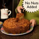 Miss Ellie's Traditional Cinnamon Coffee Cake (without nuts) 8 inch