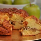 Miss Ellie's Freshly Sliced Granny Smith Apple Coffee Cake 8 inch