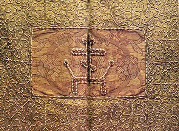 Коллекция шитья древней Руси