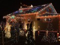 Great and Creative Outdoor Christmas Lights Home Decorating Ideas full house
