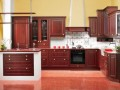 Classic Kitchen Design with Natural Oak Wooden Material Arkada Rustic