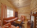 main room of amazing wooden coutry house design