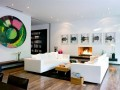 Living room Contemporary Simple Home Design Ideas