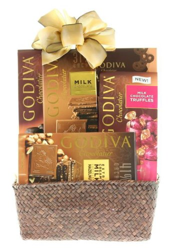 Wine.com The Godiva Sampler Gift Basket