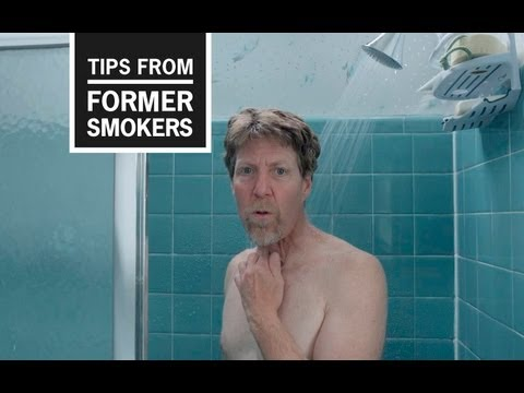 """This TV ad, from CDC's """"Tips From Former Smokers"""" campaign, features three people who have stomas as a result of their smoking. They provide tips on how to live with this condition."""
