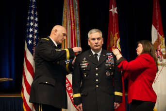 Gen. John Campbell assumes duties as the 34th Army