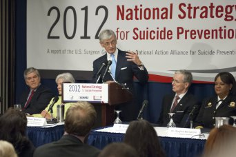 McHugh speaks at suicide prevention press conferen