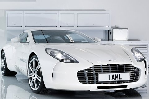 Carros mais caros do mundo 2013 Aston Martin One-7