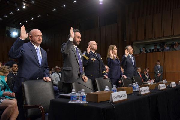 Senator Leahy Chairs First Congressional Hearing On Gun Violence