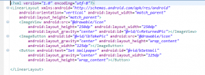 Camera and Wallpaper android dev