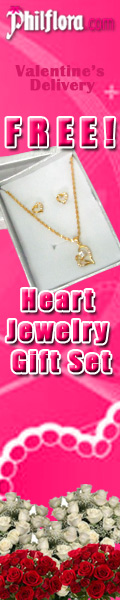 Free Valentine's Heart Jewelry Gift Set on Feb 14 Promo