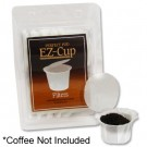 Filter Papers For EZ Cup  | Reusable K Cup Filters | 50 Count | Make your own K-Cups