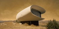Sci-Fi Structures Found on Earth Get Transported to Alien World