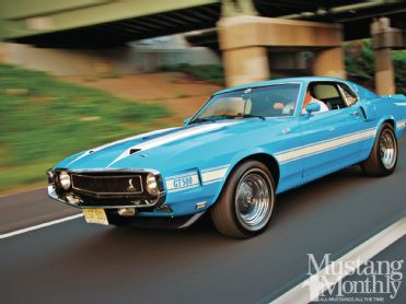 Blue Crush -  '69 Shelby G.T.
