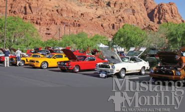 2013 Mustang Monthly Event and Car Show Schedule