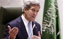 John Kerry: US will 'empower' Syria opposition