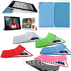 Magnetic Smart Cover Case W/Stand + Ultra Slim Back Cover for iPad 2/3/4 9 Color