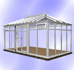 Full Height DIY Hipped Edwardian Conservatory