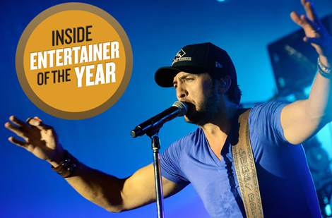 Watch What Made Luke Bryan The ACM Entertainer Of The Year