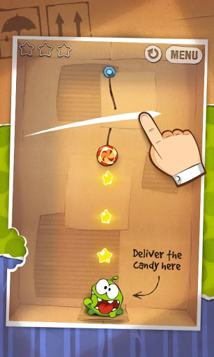 Cut the Rope v1.3.2 Paid version