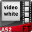 HTML / XML Video List White AS2 - v2 ( & FLV Player )