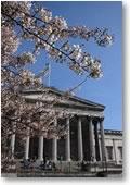 Portico in spring