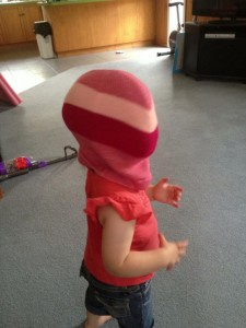 I don't want to alarm anyone, but I think Milla may be planning to rob a bank...