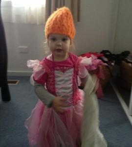 Fairy dress with a Milla twist.