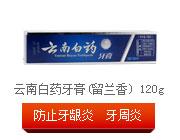 云南白药 云南白药牙膏(留兰香) 120g